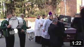 Father Parke's funeral